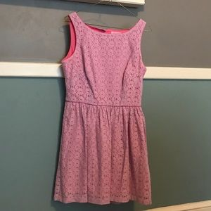 Lilly Pulitzer Lace Dress Size 8